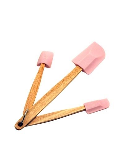BergHOFF 3-Piece Spatula Set, Pink