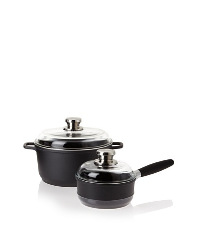 BergHOFF Scala 4-Piece Saucepan & Stockpot Set