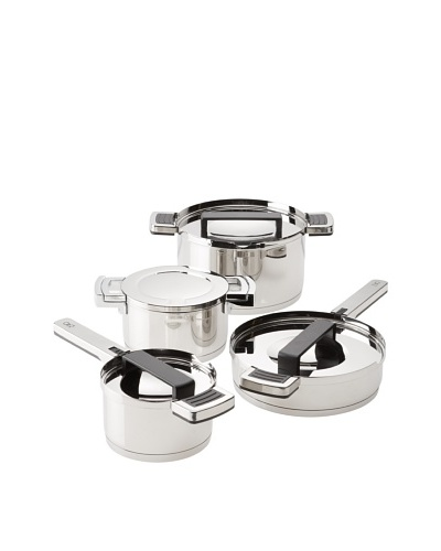 BergHOFF Neo 8-Piece 18/10 Stainless Steel Cookware Set, SilverAs You See