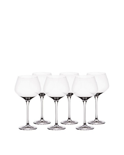 BergHOFF Set of 6 Chateau 24-Oz. Burgundy Glasses