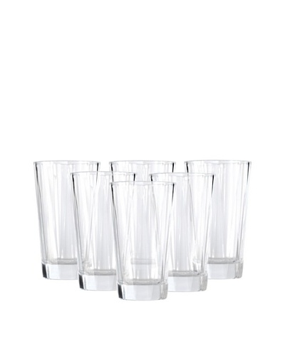 BergHOFF Set of 6 Club Highball Glasses, 17-Oz.