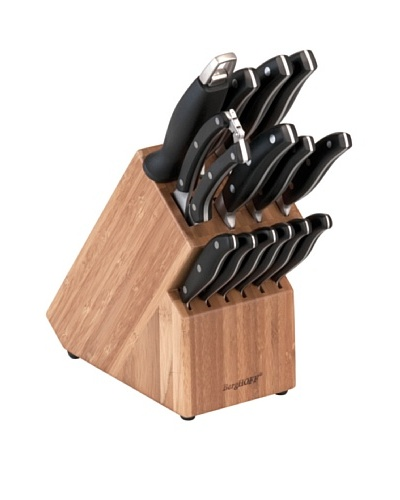 BergHOFF 15-Piece Forged Knife Set with Block