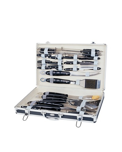 BergHOFF 31-Piece BBQ Set in Case, BlackAs You See