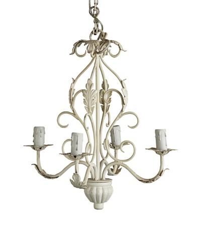 Better Living Rampur Iron Chandelier, Liquid White