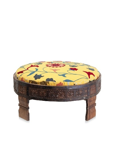 Better Living Collection Suzani Jodhpur Ottoman