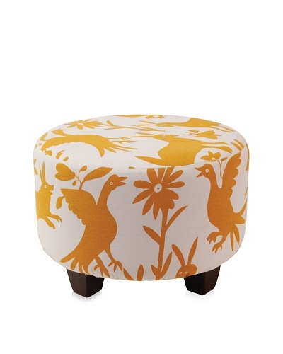 Better Living Collection Forest Round Ottoman