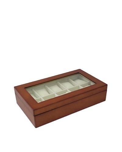 Bey-Berk Wood Watch Case, Cherry Wood