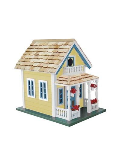 Newburyport Cottage Birdhouse, Yellow