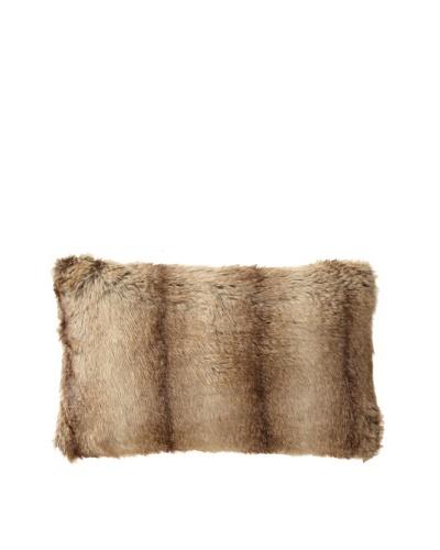 Blissliving Home Faux Fur Kylie Pillow, Brown