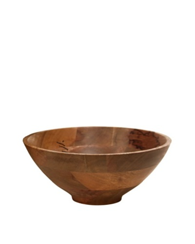 Bliss Studio Agra Wooden Bowl, Small, Natural