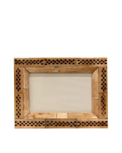 Bliss Studio Pierced Bone Frame, 4x6