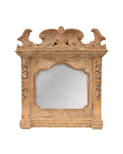 Bliss Studio Antique Italian Mantle Mirror