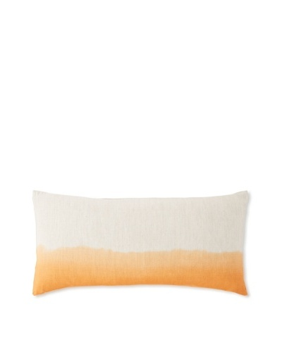 Blissliving Home Piko Dip-Dye Decorative Pillow [Firecracker]