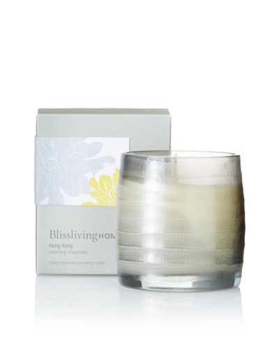 Blissliving Home Hong Kong Candle, Grey, 9.8-Oz.As You See