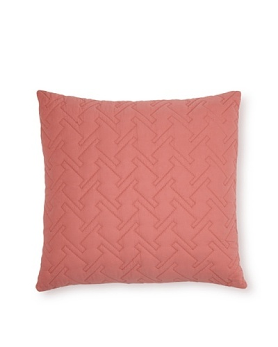 Blissliving Home Tate Square Decorative Pillow [Rose]