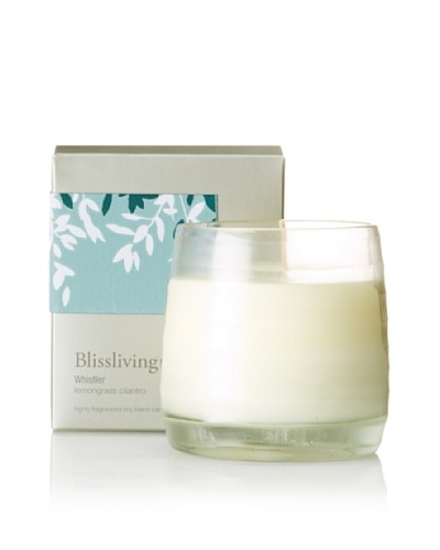 Blissliving Home Whistler Candle, Ivory, 9.8-Oz.