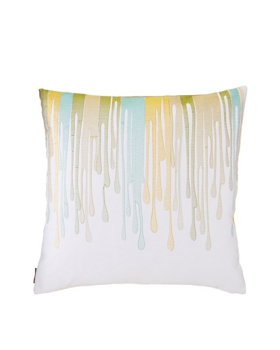 Blissliving Home Buenos Aires Embro Pillow, 18 x 18As You See