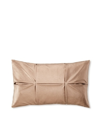 Blissliving Home Society Decorative Pillow, Rose Gold, 12 x 20