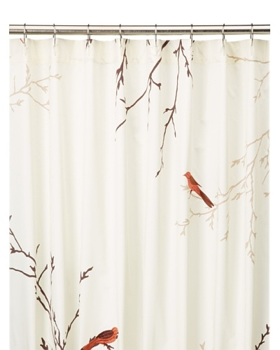 Blissliving Home Tuileries Shower Curtain, Vanilla
