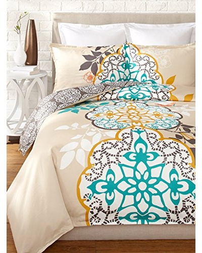 Blissliving Home Shangri-La Reversible Duvet Set