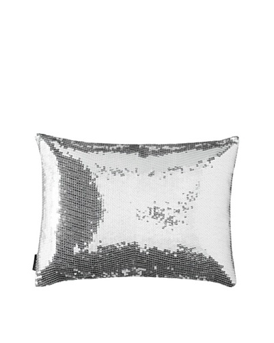 Blissliving Home Sasha Pillow, Silver, 12 x 16
