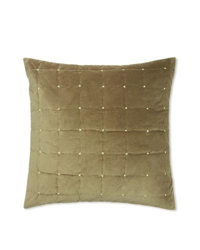 Blissliving Home Paulo Euro Sham/Pillow, Slate