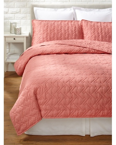 Blissliving Home Tate Coverlet Set [Rose]
