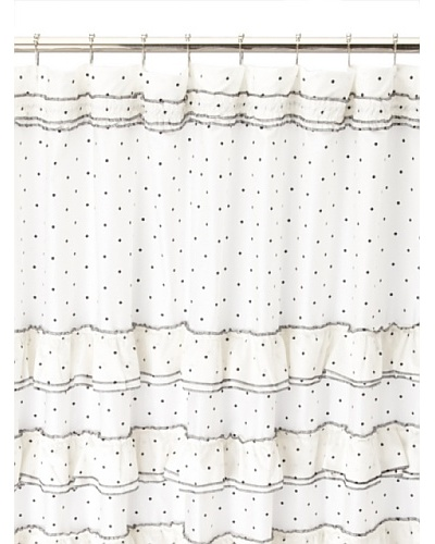 Blissliving Home Can-Can Shower Curtain