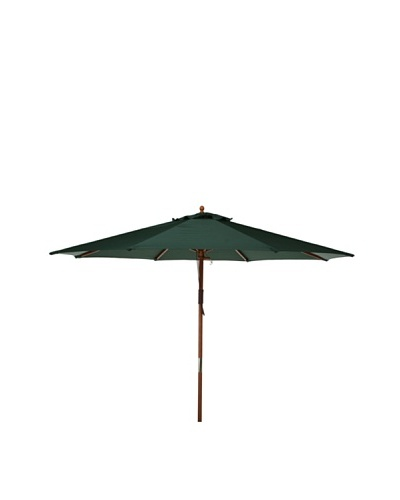 Bond 9' Market Polyester Umbrella [Green]