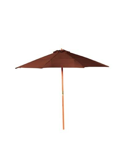Bond 9' Henna Market Umbrella with Crank/Tilt
