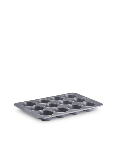 BonJour Bakeware Commercial Nonstick 12-Cup Muffin and Cupcake Pan