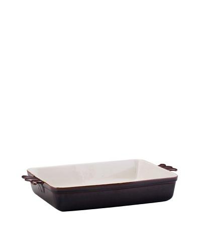 BonJour Stoneware 9 x 13 Rectangular Baker [Chocolate Brown]