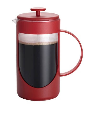 BonJour Ami-Matin Unbreakable BPA-Free French Press [Rouge Red]