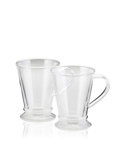 BonJour Set of 2 Insulated 10-Oz. Coffee Mugs