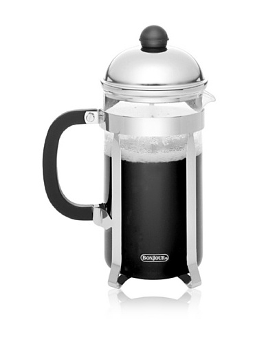 BonJour Polished Stainless Steel Monet French Press [Polished Stainless]