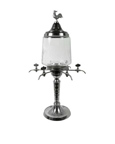 Bonnecaze Absinthe & Cuisine Six-Spout Rooster Absinthe Fountain