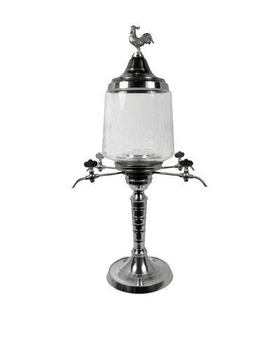 Bonnecaze Absinthe & Cuisine Four-Spout Rooster Absinthe Fountain
