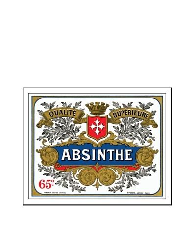 Bonnecaze Absinthe & Cuisine Absinthe Distillery Label Print