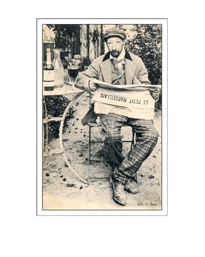 Bonnecaze Absinthe & Cuisine Le Petit Marseillaise Poster