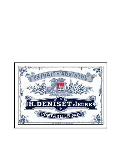 Bonnecaze Absinthe & Cuisine Deniset Jeune Absinthe Distillery Label Print