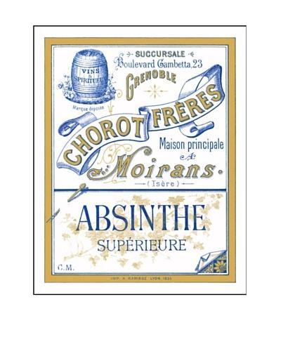 Bonnecaze Absinthe & Cuisine Chorot Freres Absinthe Distillery Label Poster