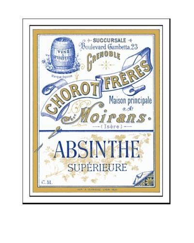 Bonnecaze Absinthe & Cuisine Chorot Freres Absinthe Distillery Label Print