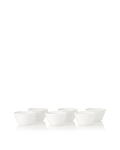 Boska Holland Living Set of 6 Chip & Dip Cups, WhiteAs You See