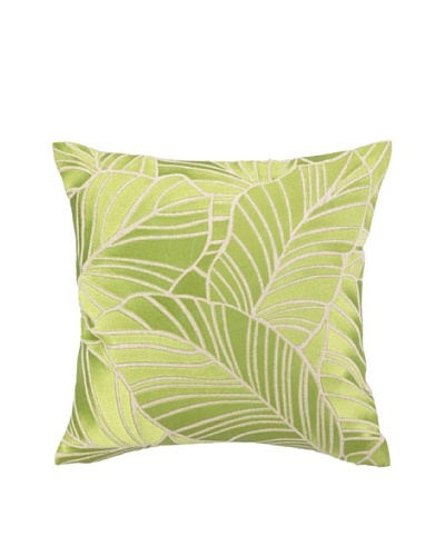 Brejer Hanalei Embellished Down Pillow, Green, 16 x 16As You See