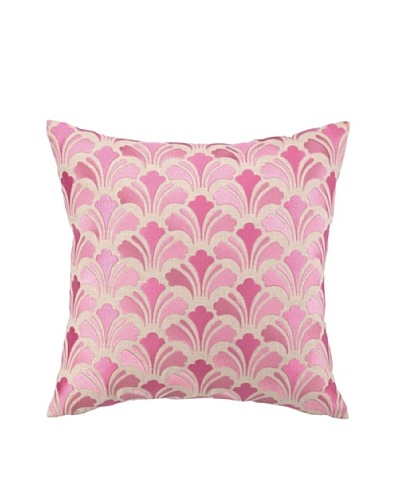 Brejer Acadia Embellished Down Pillow, Pink, 18 x 18