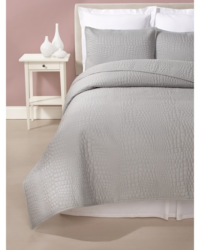 Blissliving Home Alligator Coverlet Set