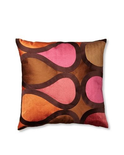 Trina Turk Embroidered Burmese Vine Pillow