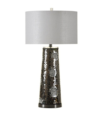 StyleCraft Mosaic Mirror Table Lamp