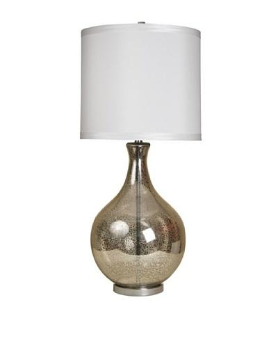 StyleCraft Large Mercury Glass Urn Style Table Lamp