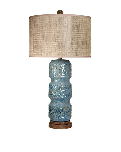 StyleCraft Ceramic & Poly Table Lamp